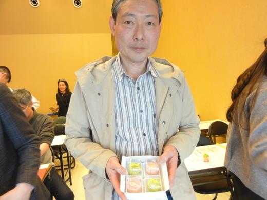 和菓子手作り体験 2017年4月24日