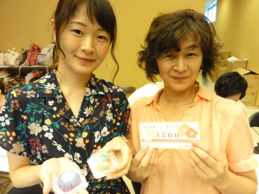 和菓子手作り体験 2017年8月14日