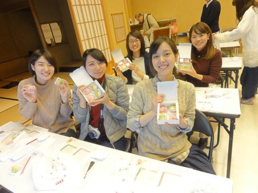 和菓子手作り体験 2017年2月9日