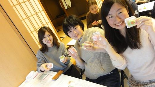 和菓子手作り体験 2017年2月23日