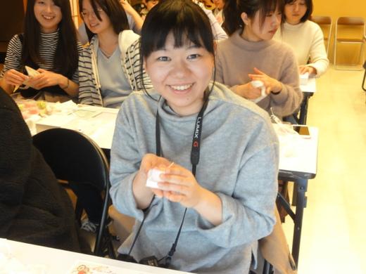 和菓子手作り体験 2017年3月7日