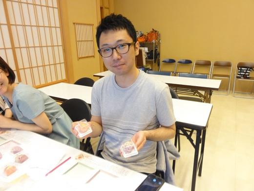 和菓子手作り体験 2017年5月22日