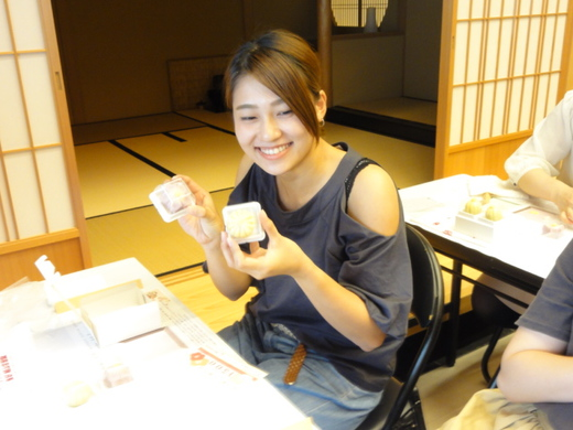 和菓子手作り体験 2017年8月19日