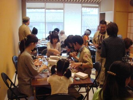 和菓子の手作り体験